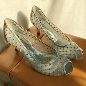 Sparkly Kitten heels by Arianna Papell